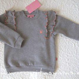 Sudadera niña gris GIULIA de EVA CASTRO, invierno 2021