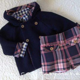 Conjunto recortado con chaquetón LILY de EVA CASTRO, invierno 2021