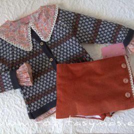 Conjunto falda pantalón GIULIA de EVA CASTRO, invierno 2021