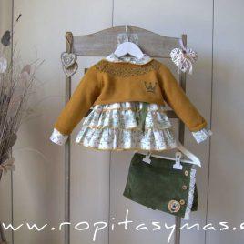 Conjunto falda pantalón CHIARA de EVA CASTRO, invierno 2021