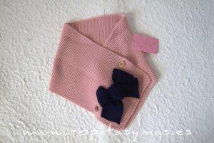 Bufanda rosa LILY de EVA CASTRO