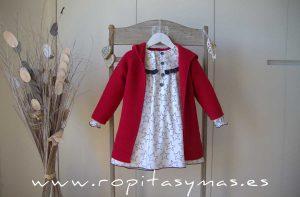 Abrigo de punto rojo STAR de EVE CHILDREN