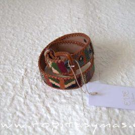 Cinturón étnico multicolor de EVE CHILDREN, invierno 2021