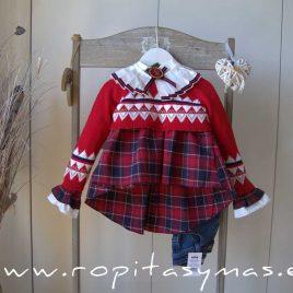 Jersey corto rojo PREPPY niña de KAULI, invierno 2021