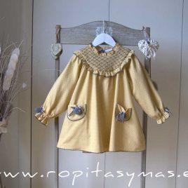 Vestido bordado SRI LANKA de LA MARTINICA, invierno 2021