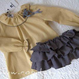 Conjunto niña braguita y blusa SRI LANKA de LA MARTINICA, invierno 2021