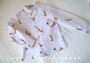 Camisa niño perritos LAIKA de LA PEPPA