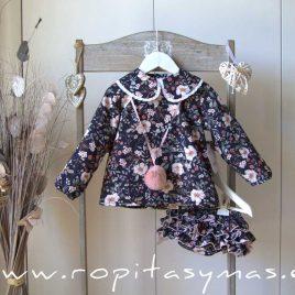 Conjunto braga y blusa floral MÉRIDA de LA PEPPA, invierno 2021