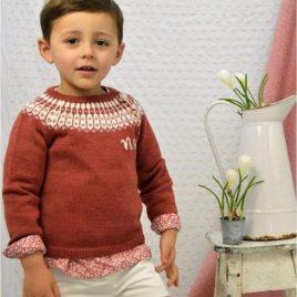 Jersey niño teja IRIS de NOMA, invierno 2021